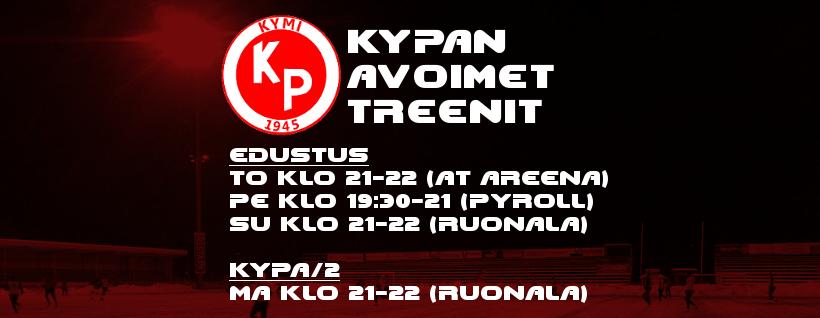 KyPan avoimet treenit